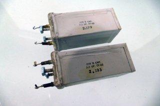 Western Electric 228B COND 2個 [22854]