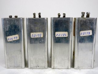Western Electric CW69 COND 4個 保証外品 [22953]