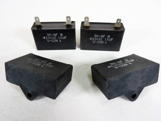 SHIZUKI U-CON 450V 1.5MFD 4個 [23362]