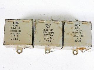 Western Electric 517A 3個 保証外品 [23369]