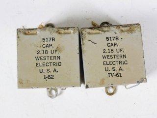 Western Electric 517B 2個 保証外品 [23372]