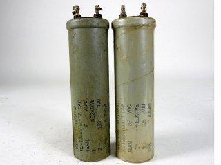 Western Electric KS-13686 400V 125MFD 2個 保証外品 [22937]