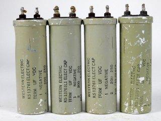 Western Electric KS-13761 200V 250MFD 4個 [22940]