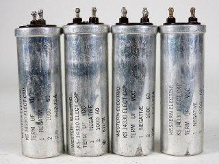 Western Electric KS-14330 60V 1000MFD 4個 [22941]