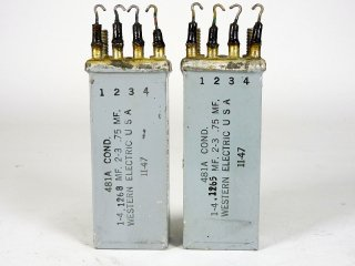 Western Electric 481A COND 2個 [23417]