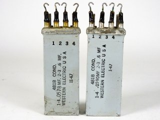Western Electric 481B COND 2個 [23418]