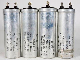 Western Electric KS-14330 60V 1000MFD 4個 [23420]