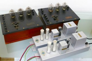 Western Electric 7A AMP + POWER SUPPLY 各2台 球無 保証外品 [23463]