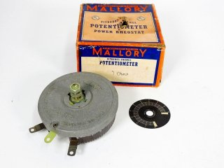 MALLORY 7Ω 450W POTENTIOMETER 1個 [23701]