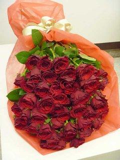 【特別価格商品】 大輪赤バラ60本 還暦のお祝い花束