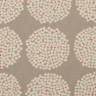 【cotton canvas】北欧風サークルブーケ×10番コットンキャンバス|グレージュ|
