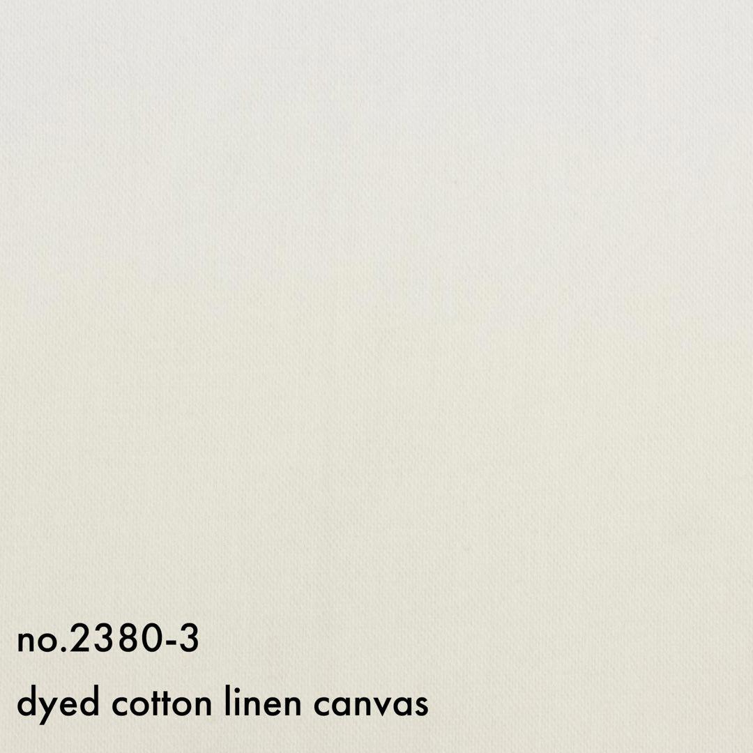 やわらかコットンリネンキャンバス|やわらかく仕上げました|オフホワイト|