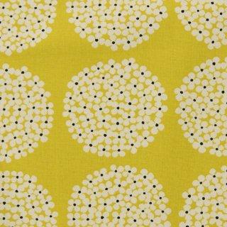 【cotton canvas】北欧風サークルブーケ×10番コットンキャンバス|マスタード|
