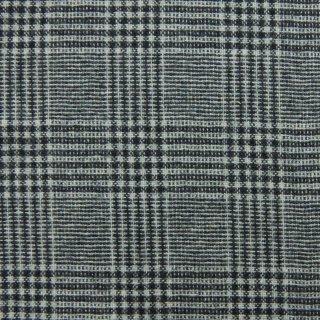 【wool】やわらかなトラッドチェック|グレンチェック|tweed|ミッドグレー|