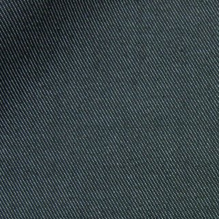 【しわになりにくい】コットンとポリエステルで織ったカラーデニム|デニム無地|ブラック|