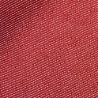 【しわになりにくい】コットンとポリエステルで織ったカラーデニム|デニム無地|レッド|
