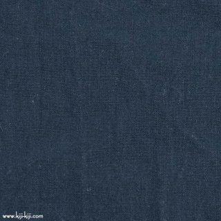 【cotton linen】ナチュラルウォッシュ仕上げのコットンリネン|ウェザークロス|ソリッドネイビー|