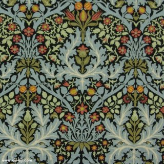 【USAcotton】William Morris | Autumn Flowers 1888 | MODA社|ウイリアムモリス|エボニー|<img class='new_mark_img2' src='https://img.shop-pro.jp/img/new/icons5.gif' style='border:none;display:inline;margin:0px;padding:0px;width:auto;' />