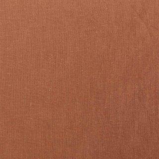 【cotton linen】こだわりのくったりしたハーフリネン×タンブラーワッシャー|ハーフリネンシーチング|テラコッタ|