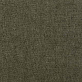 【cotton linen】こだわりのくったりしたハーフリネン×タンブラーワッシャー|ハーフリネンシーチング|カーキ|
