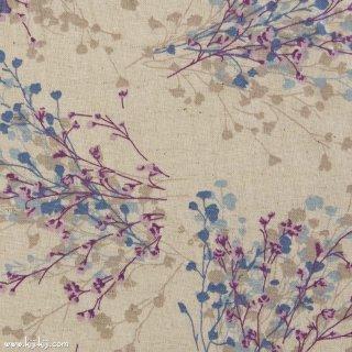 【cotton linen】natural bouquet×cotton linen|やわらかコットンリネンシーチング|ナチュラル|