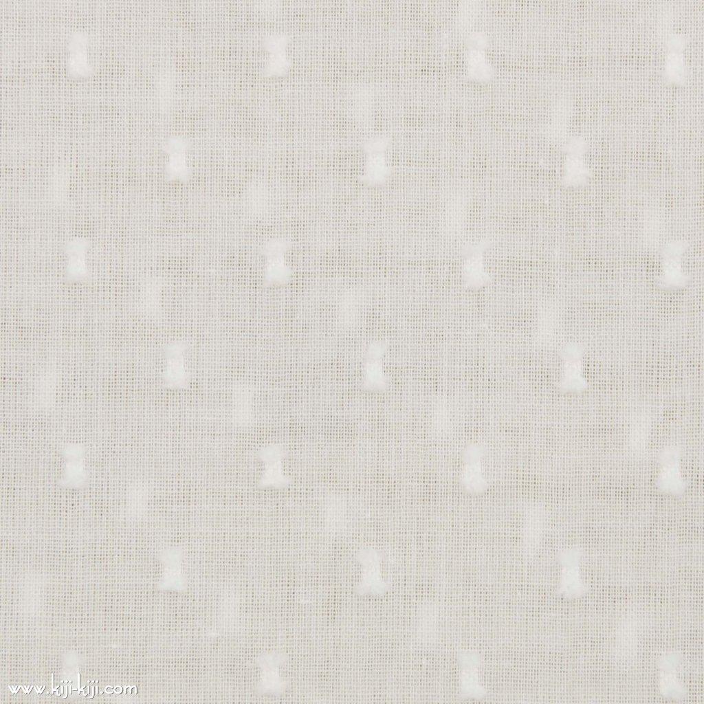 【cotton】やわらか50スノーカットボイル コットンカットボイル オフホワイト 