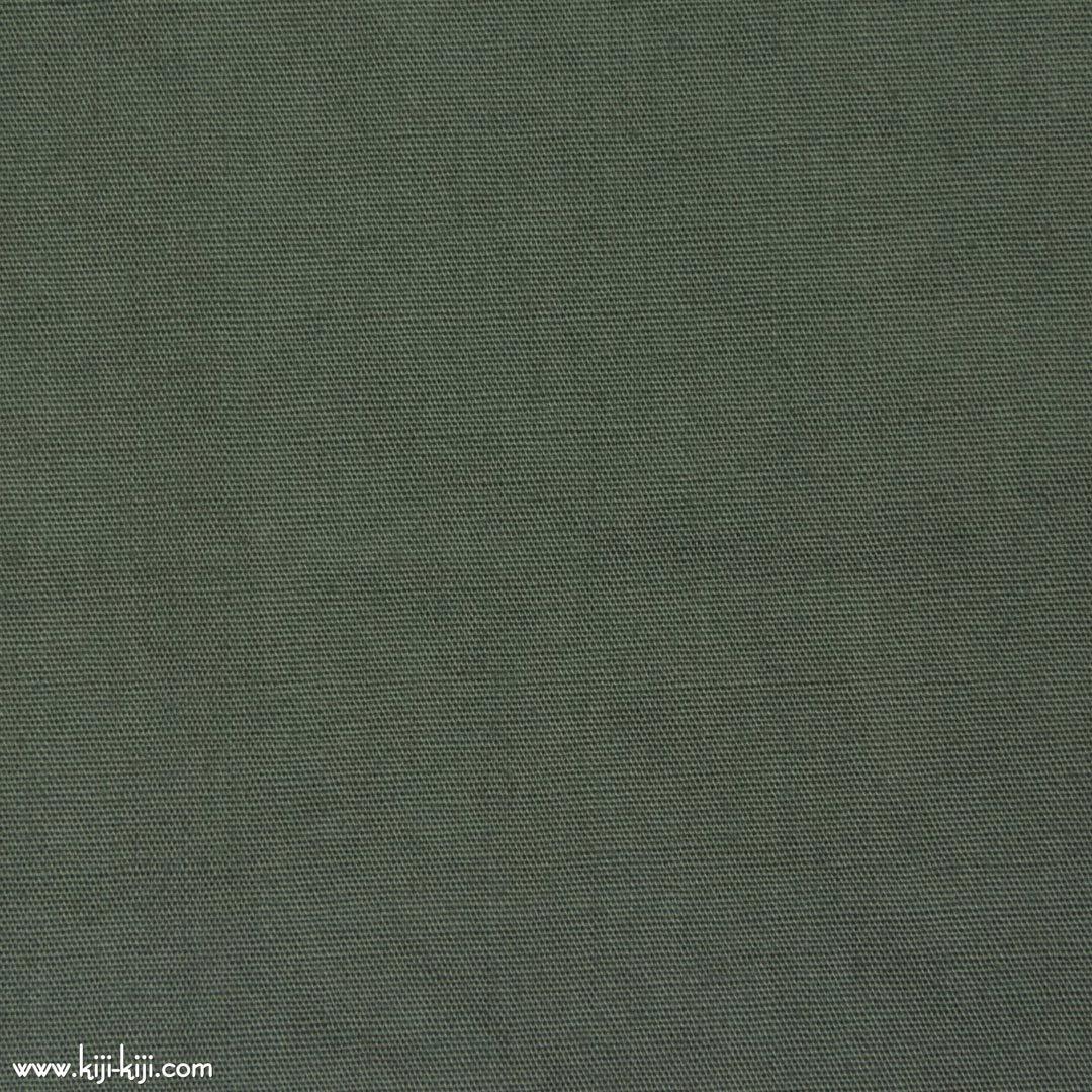 【cotton】グレイッシュカラーのやわらかコットンブロード|30色|グリーングレー|