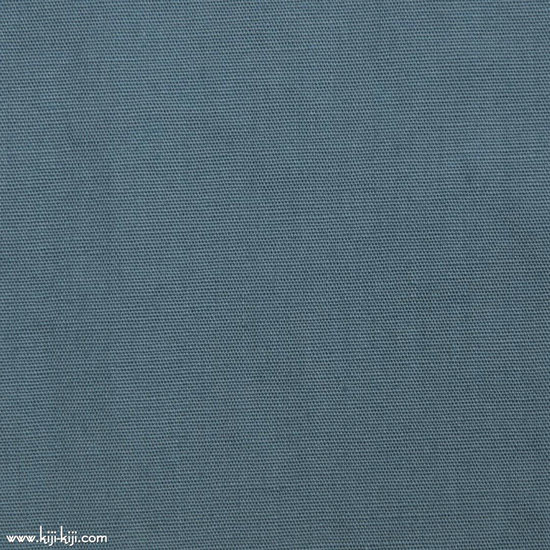 【cotton】グレイッシュカラーのやわらかコットンブロード|30色|グレーブルー|