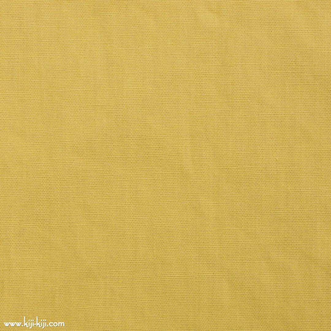【cotton】グレイッシュカラーのやわらかコットンブロード|30色|スモークイエロー|