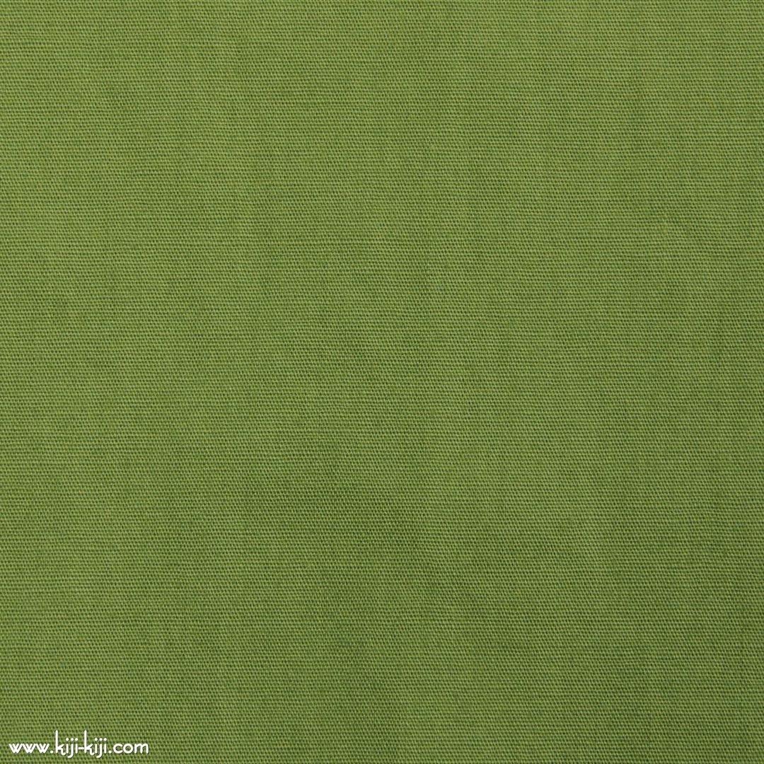 【cotton】グレイッシュカラーのやわらかコットンブロード 30色 スモークリーフ 