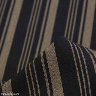 【cotton】秋色の先染めチェック&ストライプ 30/1ウェザー アパレル使用 オータムストライプ 