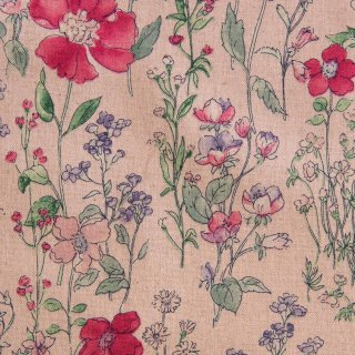 【cotton linen】English flower garden|コットンリネンキャンバス|ピンク|<img class='new_mark_img2' src='https://img.shop-pro.jp/img/new/icons5.gif' style='border:none;display:inline;margin:0px;padding:0px;width:auto;' />