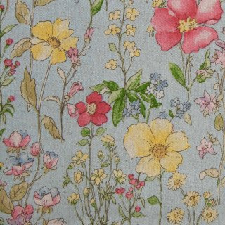 【cotton linen】English flower garden|コットンリネンキャンバス|ミズイロ|<img class='new_mark_img2' src='https://img.shop-pro.jp/img/new/icons5.gif' style='border:none;display:inline;margin:0px;padding:0px;width:auto;' />