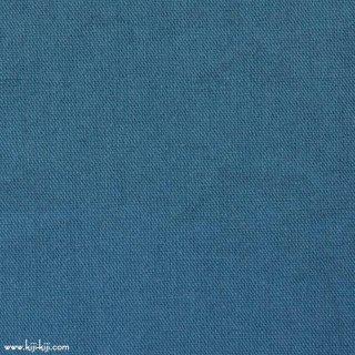 【cotton linen wool】やわらかコットンリネンウールキャンバス【後染】|コットンリネンウール|スモークブルー|