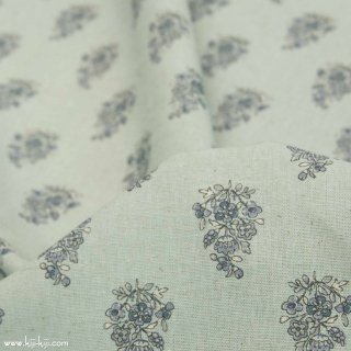 【cotton linen】natural provence コットンリネンシーチング 南仏風 ミズイロ <img class='new_mark_img2' src='https://img.shop-pro.jp/img/new/icons5.gif' style='border:none;display:inline;margin:0px;padding:0px;width:auto;' />