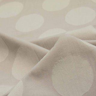 【cotton】コットンビエラのドットジャガード|裏サークルカット|ウォームグレー|