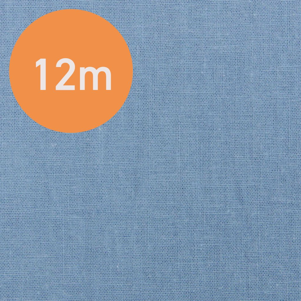 【6月中旬のお届け予定になります】【12m1反販売】こだわりのくったりハーフリネン|タンブラーワッシャー|ハーフリネンシーチング|グレイッシュブルー|<img class='new_mark_img2' src='https://img.shop-pro.jp/img/new/icons20.gif' style='border:none;display:inline;margin:0px;padding:0px;width:auto;' />