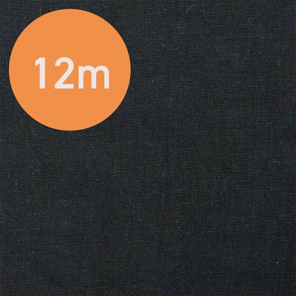 【12m1反販売】こだわりのくったりハーフリネン|タンブラーワッシャー|ハーフリネンシーチング|ブラック|<img class='new_mark_img2' src='https://img.shop-pro.jp/img/new/icons20.gif' style='border:none;display:inline;margin:0px;padding:0px;width:auto;' />