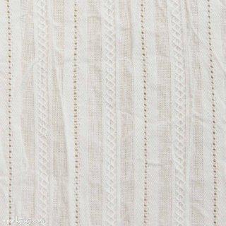 【cotton】カラミドビーの天日干しワッシャー|くしゅっと仕上げ|オフホワイト|
