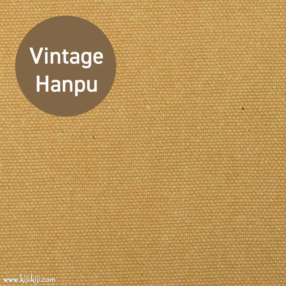 【8号帆布】スモーキーカラーのヴィンテージ8号帆布|ウォッシュ加工|スモークイエロー|