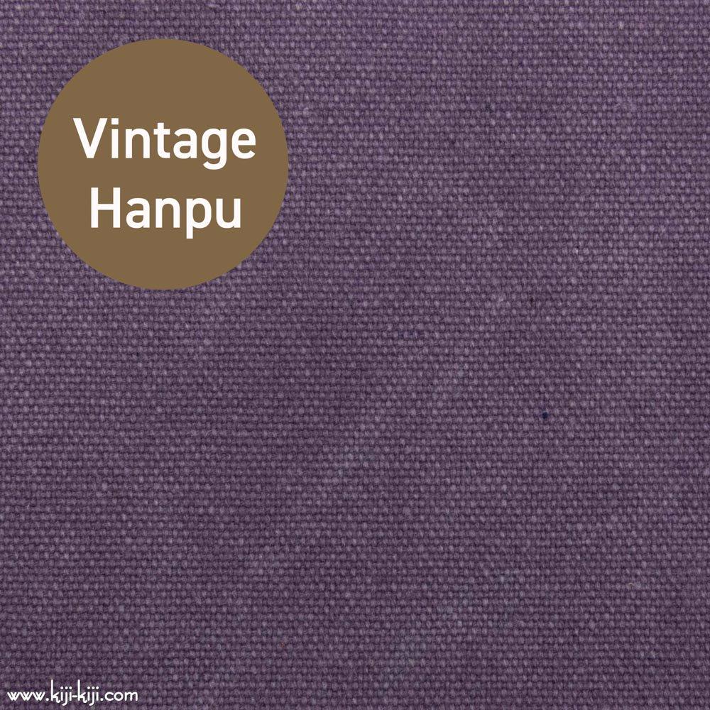 【8号帆布】スモーキーカラーのヴィンテージ8号帆布|ウォッシュ加工|スモークパープル|
