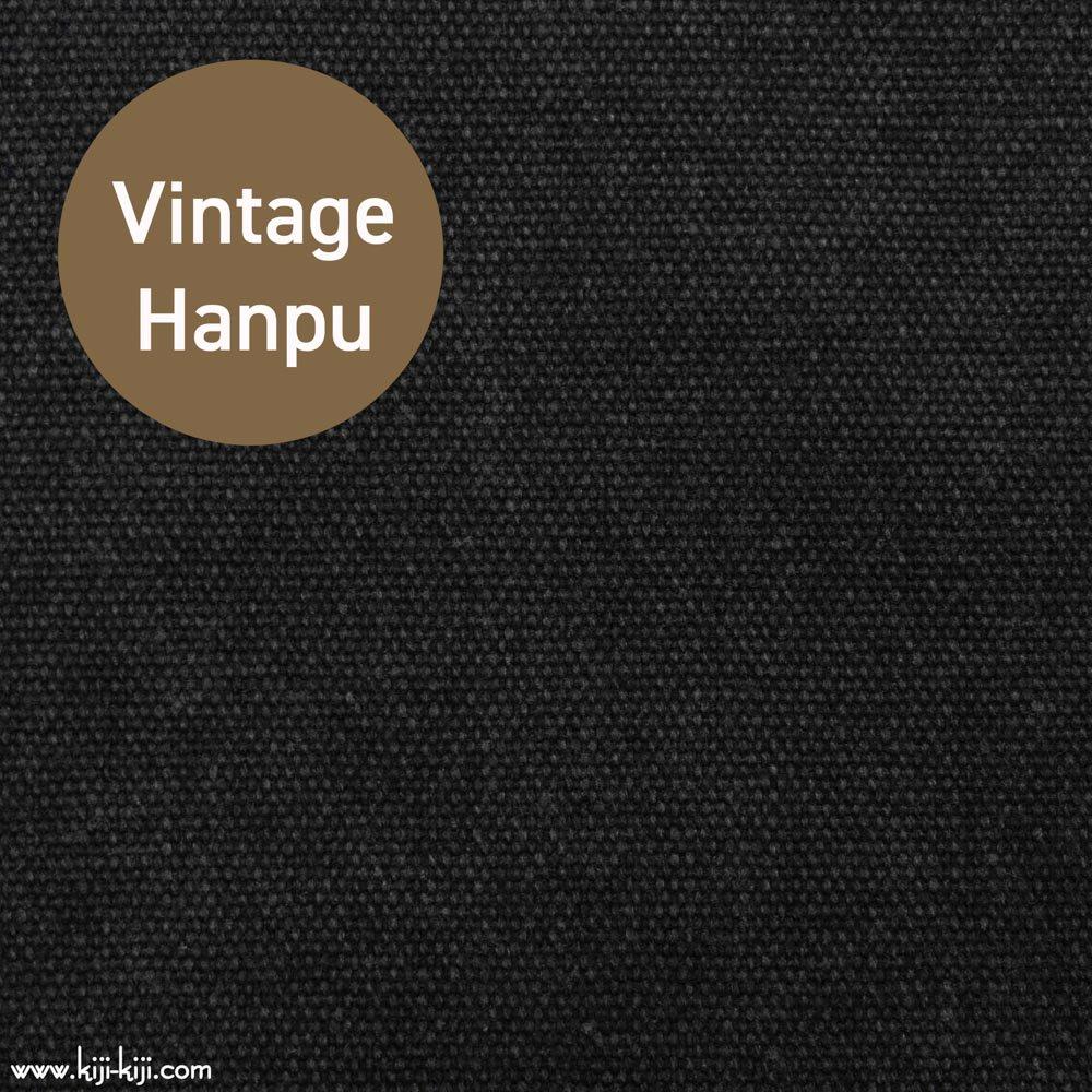 【8号帆布】スモーキーカラーのヴィンテージ8号帆布|ウォッシュ加工|ヴィンテージブラック|