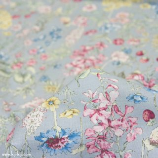 【cotton】English Flower Garden|コットンスケア|花柄|グレー|<img class='new_mark_img2' src='https://img.shop-pro.jp/img/new/icons5.gif' style='border:none;display:inline;margin:0px;padding:0px;width:auto;' />