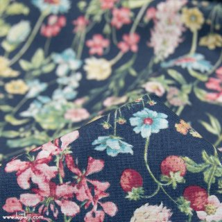 【cotton】English Flower Garden|コットンスケア|花柄|ネイビー|<img class='new_mark_img2' src='https://img.shop-pro.jp/img/new/icons5.gif' style='border:none;display:inline;margin:0px;padding:0px;width:auto;' />