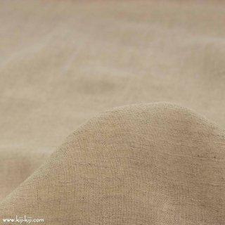 【cotton linen】ハーフリネンナチュラルガーゼ ソフト加工 シングルガーゼ ナチュラル 