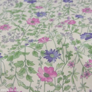 【corduroy】English Garden Flowers|cotton corduroy|シャツコール|花柄|クラシックホワイト|<img class='new_mark_img2' src='https://img.shop-pro.jp/img/new/icons5.gif' style='border:none;display:inline;margin:0px;padding:0px;width:auto;' />