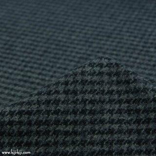 【cotton tweed】コットンで織ったハリスツイード風チェック|コットンツイード|千鳥格子|グレー|