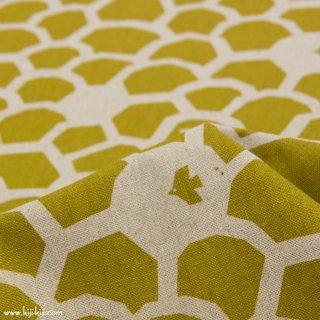 【cotton linen】ハミングバード|humming bird|コットンリネンキャンバス|スモークマスタード|