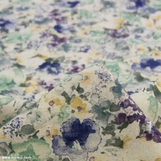 【cotton linen】classical flowers|クラシカルフラワー|コットンリネンシーチング|クラシックネイビー|<img class='new_mark_img2' src='https://img.shop-pro.jp/img/new/icons5.gif' style='border:none;display:inline;margin:0px;padding:0px;width:auto;' />