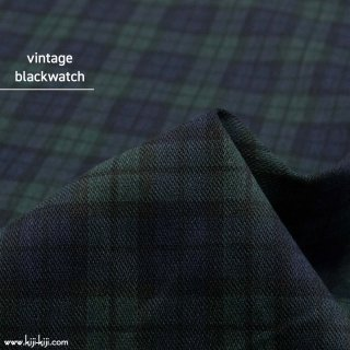 【sale】【145c巾】vintage blackwatch|デニム風プリント|ブラックウォッチ|<img class='new_mark_img2' src='https://img.shop-pro.jp/img/new/icons20.gif' style='border:none;display:inline;margin:0px;padding:0px;width:auto;' />